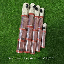 Load image into Gallery viewer, DIY Ecological Ant Farm Bamboo Test Tube Ant Nest Various Sizes Tubes Ant House