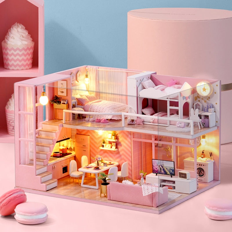 Dream Angel DIY Dollhouse Cute Families