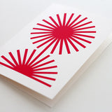study #5 A5 card – red (pack of 3)