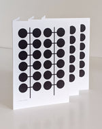 #19 A5 card – black (pack of 3)