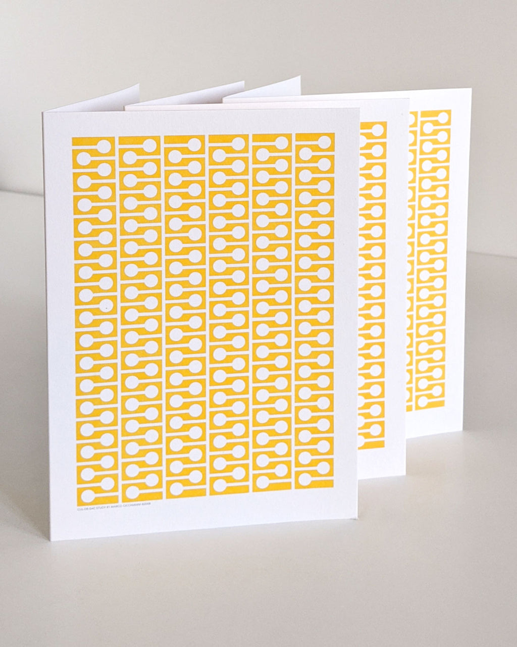 #1 A5 card – yellow (pack of 3)