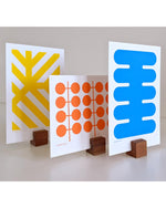 Mini screen print series - POP with cul-de-sac display blocks