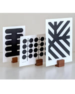 Mini screen print series - MONO with cul-de-sac display blocks