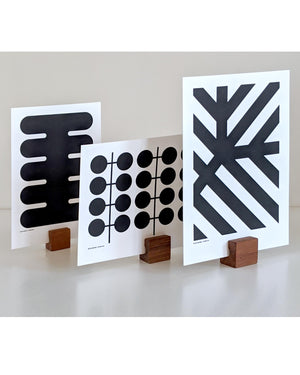 Mini screen print series - MONO