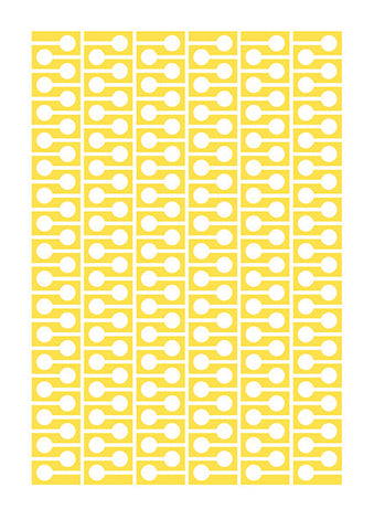 study #1 A5 card – yellow (pack of 3)
