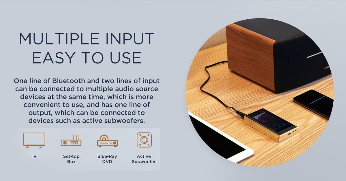 Edifier D12 Multiple Connections Including Bluetooth Streaming & AUX Input