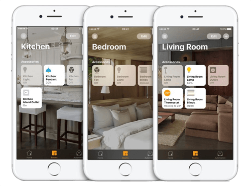 LightwaveRF Smart Phone App For Home Control