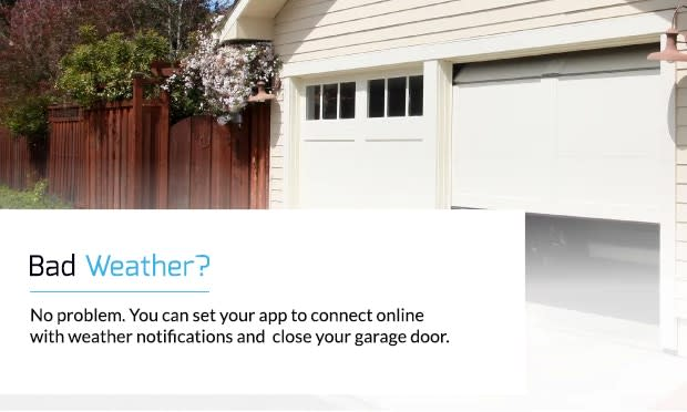 Open Garage Doors & Gates With Your Smart Light Switch