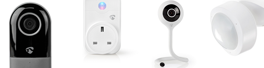 Tech4 Smart Life Smart Home Products - Smart Cameras, Doorbells, Sensors, Smart Bulbs