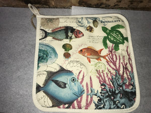Sea Life Potholder from Michel Design Works