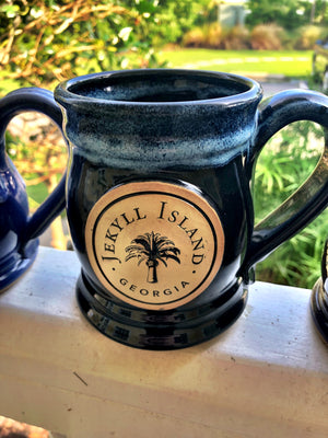 Jekyll Island Mug by Grey Fox Pottery