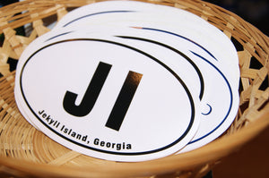 Original Jekyll Island Decal