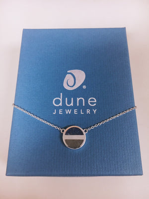 Dune Jewelry - Necklace with Crushed Lapis (blue)