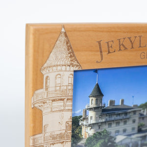 Wood Jekyll Island Club Hotel Photo Frame