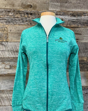 Full Zip Ladies Jacket with Pockets