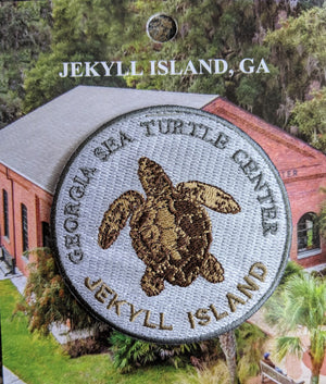 Georgia Sea Turtle Center Round Logo Patch