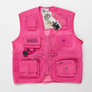 Junior Ranger Vest And Hat  PINK