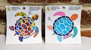 Turtle Die Cut Vinyl Decal Stickers