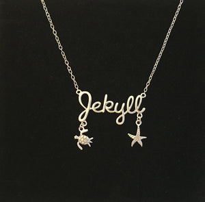 Sterling Silver Jekyll Necklace