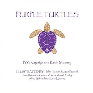 """Purple Turtles"" by Kayleigh and Kevin Mooney"