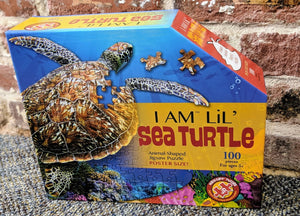 I Am Lil' Sea Turtle 100 piece Puzzle