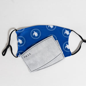 Georgia Sea Turtle Center Logo Face Mask