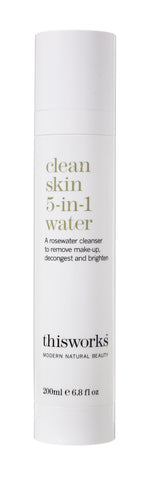 Clean skin 5-in-1 water