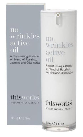 No wrinkles active oil