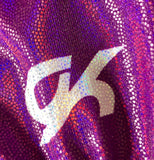WAS $69.99 NWT! GK Elite Purple Horizon Gymnastic Competition Leotard Sz AXS - Outlet Values