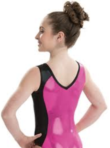 WAS $69.99 NWT! GK ELITE 3726 BERRY BOMBSHELL GYMNASTICS TANK LEOTARD Adult M - Outlet Values