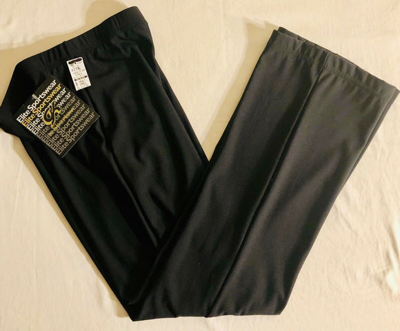 GK ELITE WARM UP PANTS ADULT SMALL BLACK RELAX FIT GYM DANCE CHEER SKATE AS NWT! - Outlet Values