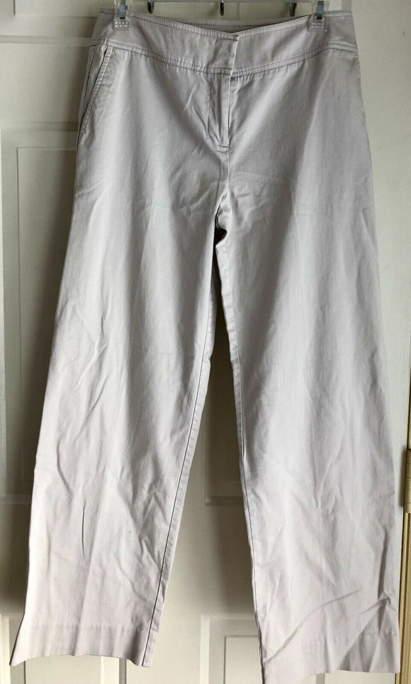 GEORGE STRETCH WOMENS BEIGE PANTS SIZE 4 Preowned - Outlet Values