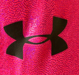 WAS $57.99 NWT! UNDER ARMOUR CHARMED FOIL TANK GYMNASTICS DANCE GK LEOTARD AS - Outlet Values
