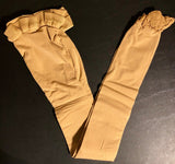 NWT! Body Wrappers Total STRETCH Convertible Dance Tights Spandex TAN CS/CM - Outlet Values