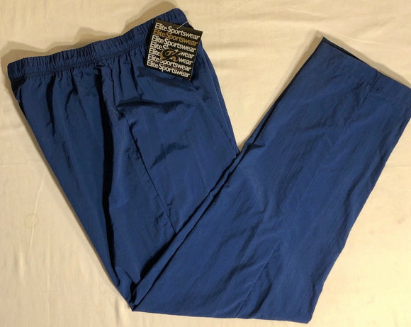 GK WARM UP PANTS LADIES LARGE NAVY SUPPLEX AL NWT! - Outlet Values