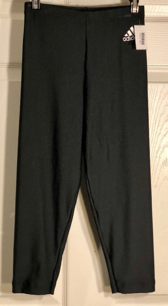 NWT! ADIDAS BLACK CAPRI TIGHTS CLIMALITE BY GK SIZE ADULT S - Outlet Values