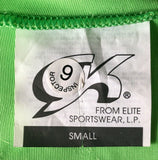 GK LgSLV NEON LIME BLACK VELVET ADULT BLACK JA GYMNASTIC DANCE LEOTARD Sz AS NWT - Outlet Values