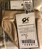 GK HI-CUT SEAMLESS CHILD SMALL-LARGE #1478 Gym Dance Cheer Nude BRIEF CS-CL NWT! - Outlet Values