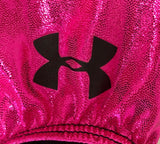 GK UNDER ARMOUR TANK LEOTARD CHILD LARGE PINK BLACK FOIL MESH JA GYMNASTIC CL - Outlet Values
