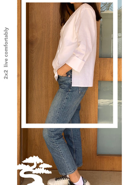 Linen & Viscose Blouse - Model 9 L