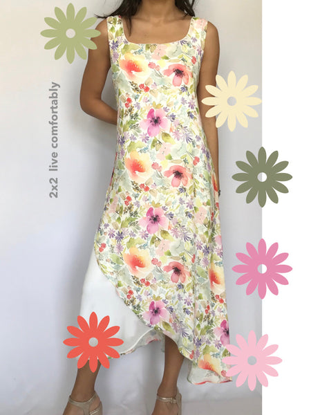 Chiffon long summer dress - Model 16