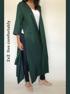 Viscose Long Jacket - Model 12 V