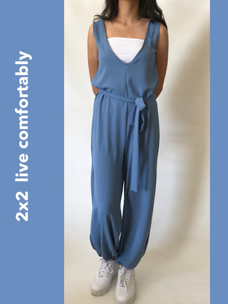 Crepe Jumpsuit - Model 44