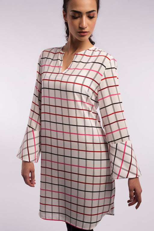 Checkered Tunic - A1146