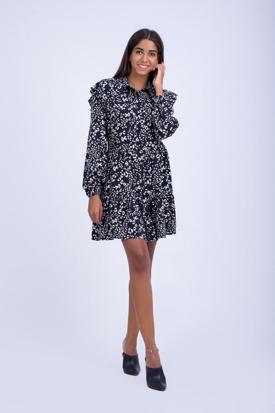 Tunic/Dress with Frills -  110064