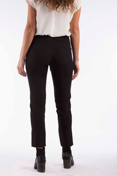 Cropped Elastic Pants - A1201