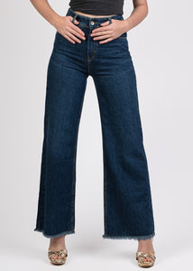 Wide Leg Cropped Jeans - 2176501