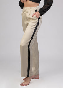 Viscose pants with Stripe -120036