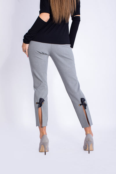 Pants with Slits & Bow Ties - W2022