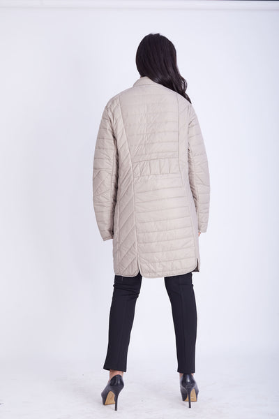 Ultra Light Quilted Nylon Coat- 150011